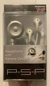PSP Heasphones with Remote Control - Model PT-PXP017 - Brand New