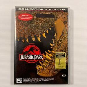 Jurassic Park Collector's Edition (DVD 2000) 1993 Steven Spielberg film Region 4