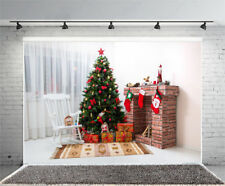 7x5ft Vinyl Photo Backdrops Christmas Tree Children Photography Background