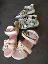 4aa5d2679534e 2 Paires de chaussure Rose et Grise ENFANT   Pointure 21 et 22   Claquette  Fille