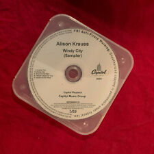 ALISON KRAUSS WINDY CITY SAMPLER  2017 US 5TRK NUMBERED WATERMARKED PROMO CD M-