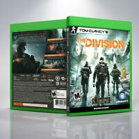 Tom Clancy's: The Division - Replacement XboxOne Cover and Case. NO GAME!!!