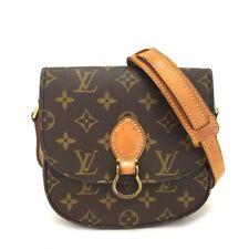 100% Authentic Louis Vuitton Monogram Saint Cloud PM Shoulder Bag / aBEE