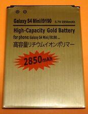 High Capacity Battery GOLD B500AE 2850mAh for Samsung Galaxy S4 Mini i9190 i9192