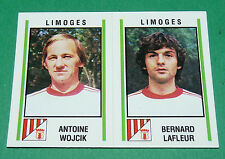N°512 WOJCIK - LAFLEUR LIMOGES D2 PANINI FOOTBALL 81 1980-1981