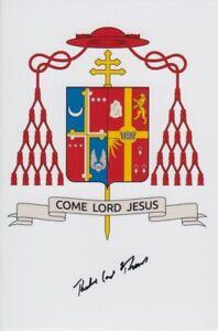 Original signiertes Foto Thedore Cardinal McCarrick - Kardinal Washington Laie