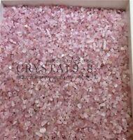 Wholesale Beautiful ROSE QUARTZ tumbled 1/2lb bulk stones pink crystal  Healing