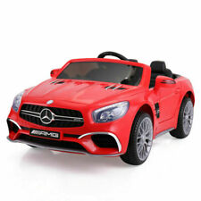 Tobbi 12V Mercedes Benz Ride On Car - Red