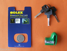 MOTORCYCLE ANTI-THEFT DISC LOCK HIGH SECURITY from SOLEX