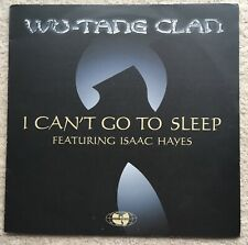 Rare Wu-Tang Clan - I Can't Go To Sleep (Isaac Hayes) Promo 2001 XPR 3460 EX+