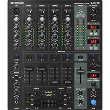 BEHRINGER DJX750 mixer digitale 5 canali +effetti NUOVO per DJ garanzia ITALIANA
