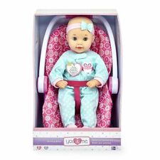 You and Me 16 inch Kicking Baby Doll and Convertible Car Seat Set