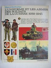 Funcken uniformes armes seconde guerre mondiale 1939 1945 tome 3 TBE