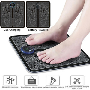 EMS Leg Reshaping Foot Massager Pad Muscle Massage Mat Improve Blood Circulation