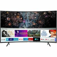 SAMSUNG UE49RU7300 49 pollici TV buona condizione CURVO SMART 4K Ultra HD LED Freeview Nuovo Regno Unito