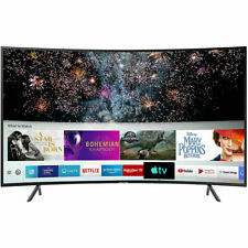 Samsung UE49RU7300 49 Inch TV A+ Curved Smart 4K Ultra HD  LED Freeview New UK