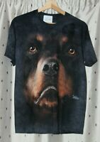 The Mountain~ Rottweiler Face T Shirt Adult Men's / Women's~ Small
