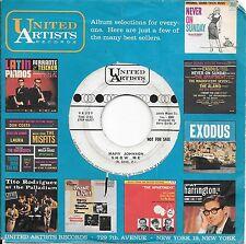 MARV JOHNSON * 45 * Oh Mary / Show Me * 1960's  * DJ PROMO * USA ORIG UA* Motown