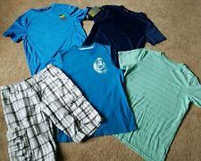 Boys lot Size 12 shirts shorts cargo shorts sports dry tek Large lot outfits