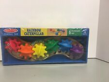 Melissa and Doug Rainbow Caterpillar   Gear Toy