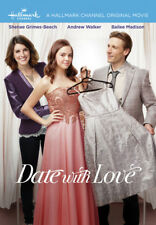 Date with Love 2016 (Hallmark DVD) Shenae Grimes-Beech, Andrew Walker - New!
