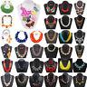Fashion Women Crystal Tassel Pendant Bib Choker Chunky Chain Statement Necklace