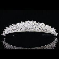 Sparkling Bridal Headpiece Rhinestone Crystal Prom Wedding Tiara V885