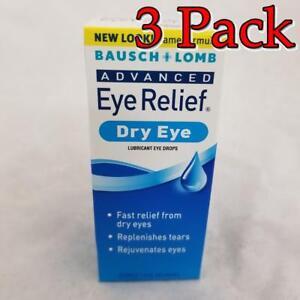 Bausch+Lomb Advanced Eye Relief, Dry Eye, 1oz, 3 Pack 310119020104A590
