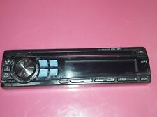 Alpine Cde-9872 Faceplate Good Condition