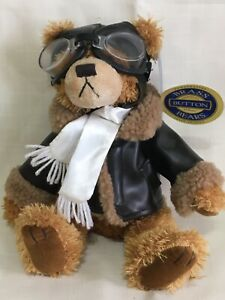 Brass Button Bears Jointed Ralph the Bear of Friendship Plush Stuffed Animal