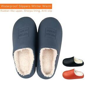 Waterproof Slippers Ladies Mens Winter Slippers Womens Slippers Winter Unisex