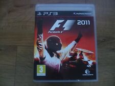 F1 2011 for Sony PS3 - PlayStation 3