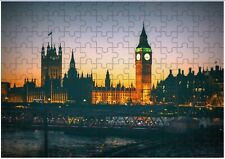Big Ben London UK  A4 JIGSAW Puzzle Birthday Christmas (Can Be Personalised)