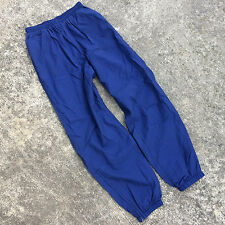 Vintage 1990s Nike Windbreaker Running Jogging Athletic Pants L Blue White Tag