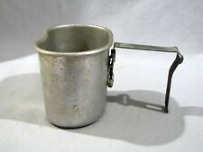 Ww Ii Canteen Cup - 437th Tcg - Engraved All Over Surface - Jayhawk - 1943