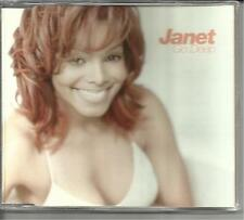 JANET JACKSON Go Deep 5 TRX w/ 4 REMXES MASTERS AT WORK TRX CD  Single SEALED