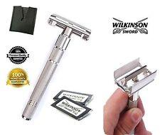 Wilkinson Mariposa Safety Razor & 10 Doble Filo Cuchillas de afeitar vintage clásico