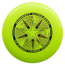 NEW Discraft ULTRA-STAR 175g Ultimate Frisbee Disc - YELLOW