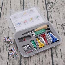 1set Fabric Bias Binding Tape Maker Tip Kit Tool For Sewing & Quilting + AWL UK