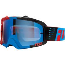 Fox Air Defence Goggles Libra Black Blue Red Frame w Blue Spark Lens 15359-901