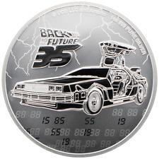 Niue - 2 Dollar 2020 - Back to the Future™ - 35. Jubiläum - 1 Oz Silber ST