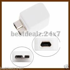 New Micro USB 3.0 USB Charger Converter Adapter For Samsung Galaxy Note 3 N9000