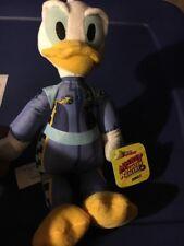 "Just Play Disney Junior 10"" Stuffed Plush Roadster Racer Donald Duck - New"