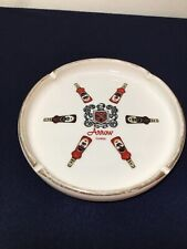 Vintage Mid Century Arrow Cordials Ceramic Advertising Ashtray 7""
