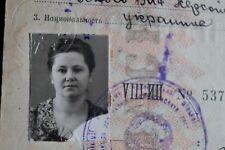 1958 Reisepass Pass Passport Ausweis UdSSR Sowjetunion Ukraine 1961 паспорт СССР