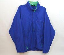 Vintage Mens Patagonia Waterproof Jacket Windbreaker 1/2 Zip Blue(size Large) 25