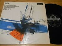 Bartok Music for Strings Percussion & Celesta Solti DECCA SXL6111 UK
