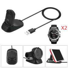 Replacement Charger for TicWatch Pro Magnetic Stand + 2 Glass Screen Protector