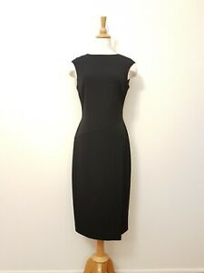 M & S COLLECTION Women's Suit Dress, Work, Black Size Tall 10 GUC
