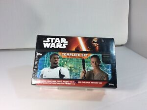 TOPPS STAR WARS The Force Awakens Complete Set Factory Sealed